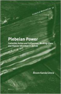 plebeian power, garcia linera