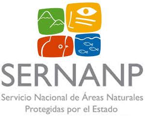 Logo Servicio Nacional de Áreas Naturales Protegidas por el Estado