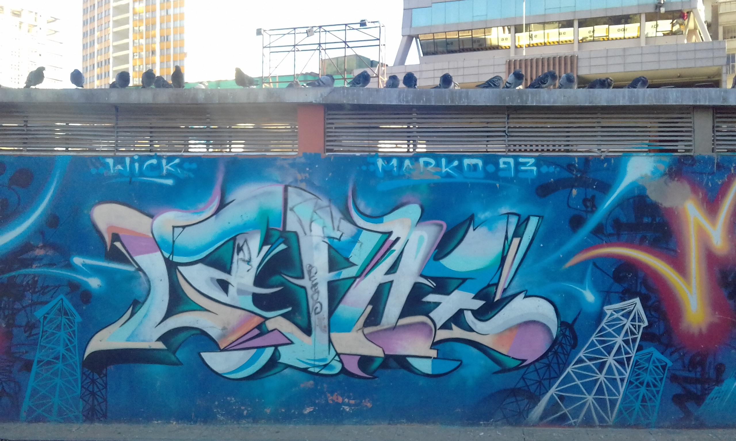 Paredes Que Hablan Grafitis de La Paz City