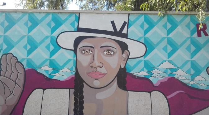 46. Paredes Que Hablan: Grafitis de Cochambamba city